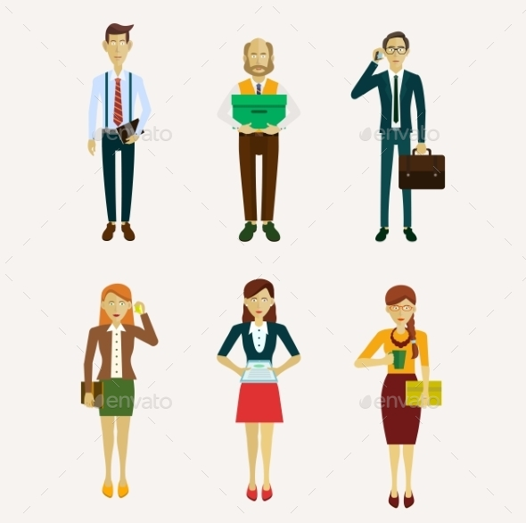 Business People - People Characters