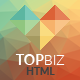 TopBiz - Responsive Corporate HTML5 Template - ThemeForest Item for Sale
