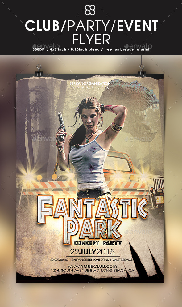 Fantastic Park Concept Party - Clubs & Parties Events