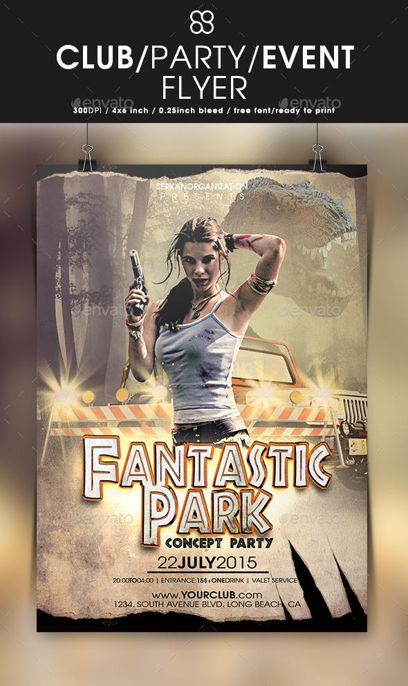 Fantastic Park Concept Party