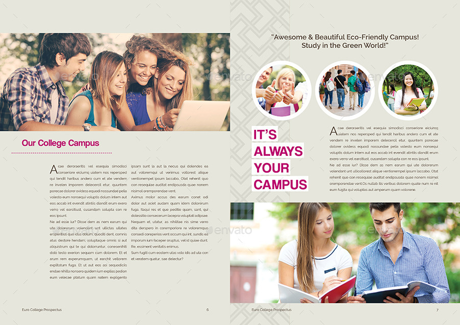 Student Vs College  Prospectus By Shemul  Graphicriver