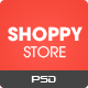 Shoppy Store - Multi-Purpose eCommerce PSD Theme - ThemeForest Item for Sale
