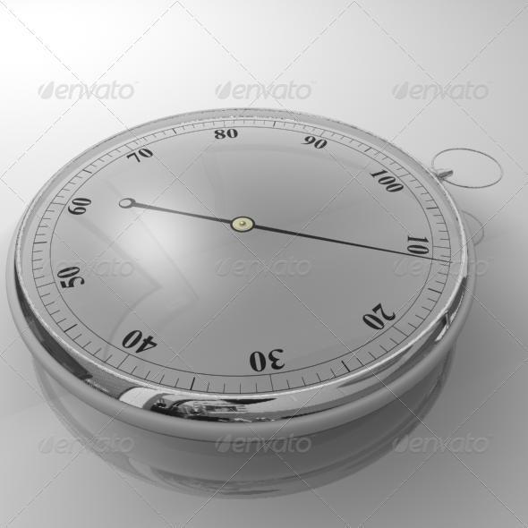 Stopwatch - 3DOcean Item for Sale