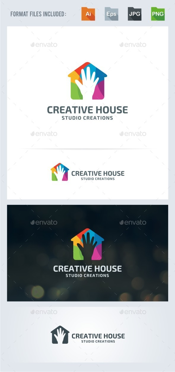 Creative House - Symbols Logo Templates