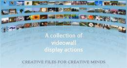3D Videowall Actions