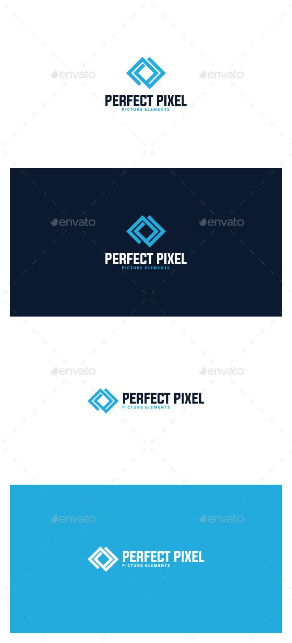 Perfect Pixel Logo - Symbols Logo Templates
