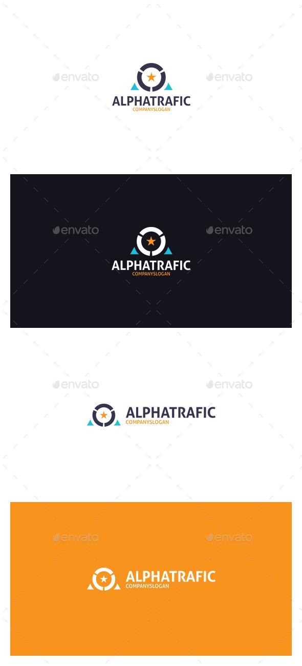 AlphaTrafic Logo - Letters Logo Templates