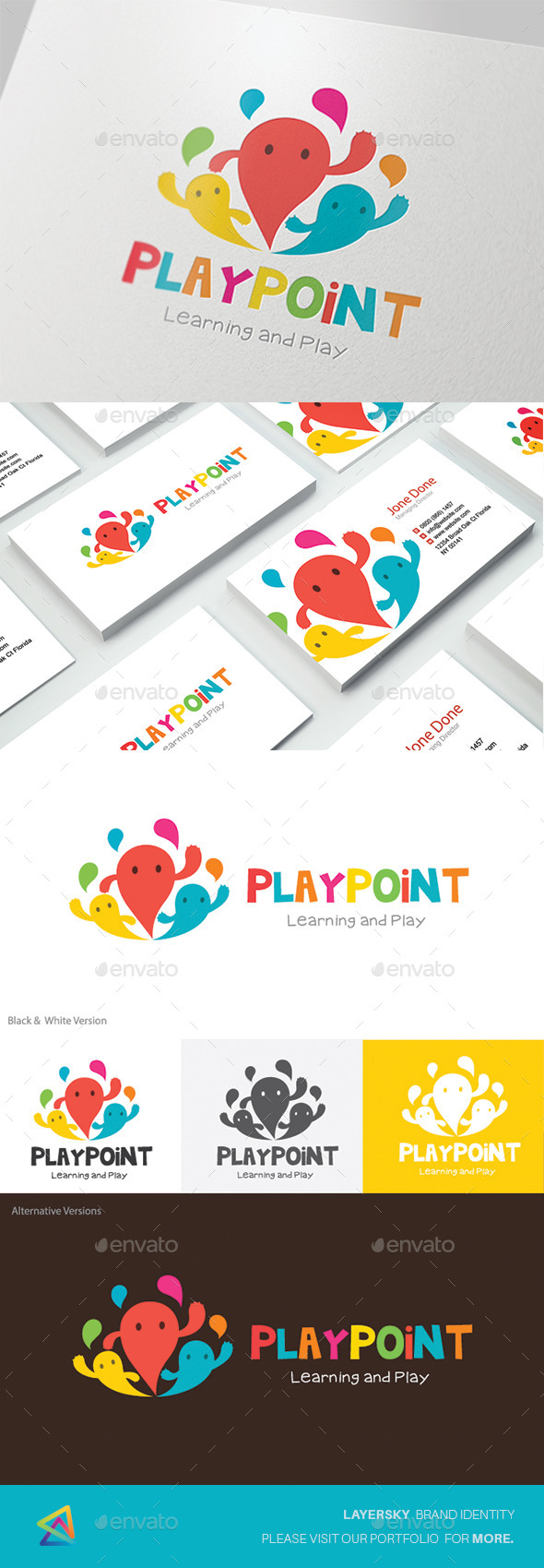 Kids Logo Play Point