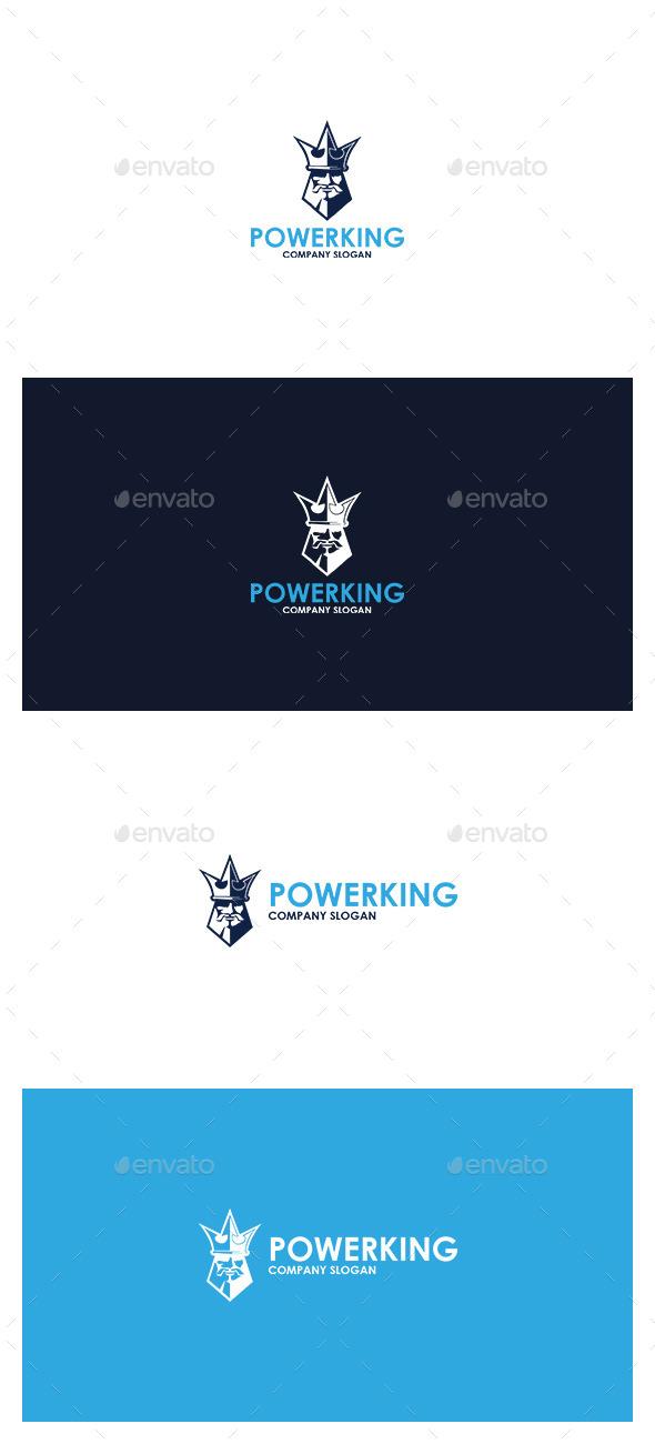 Power King  Logo - Symbols Logo Templates