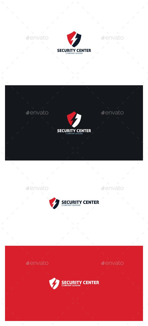 Security Center Logo - Symbols Logo Templates