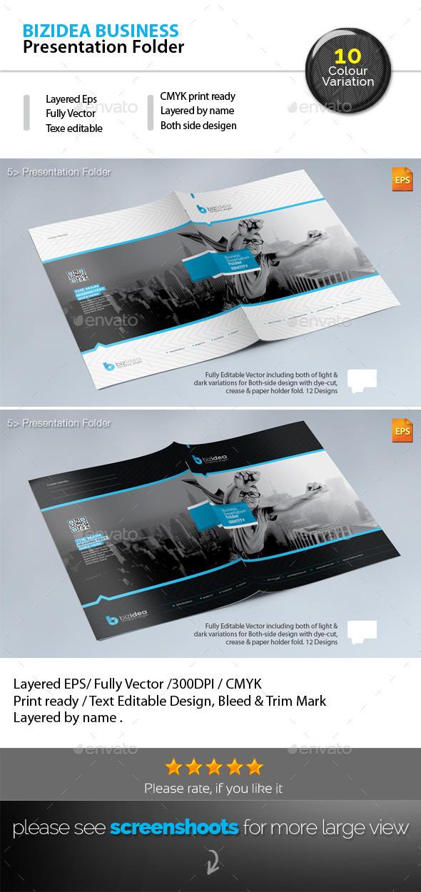 BizIdea Presentation Folder