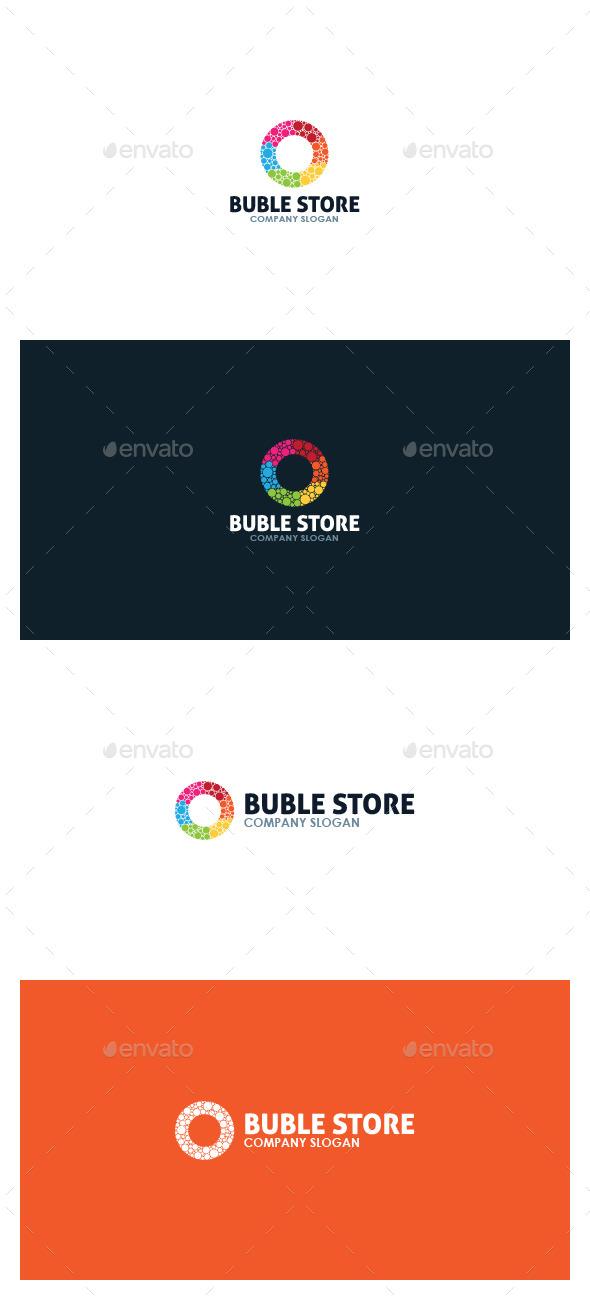 Buble Store Logo - Symbols Logo Templates