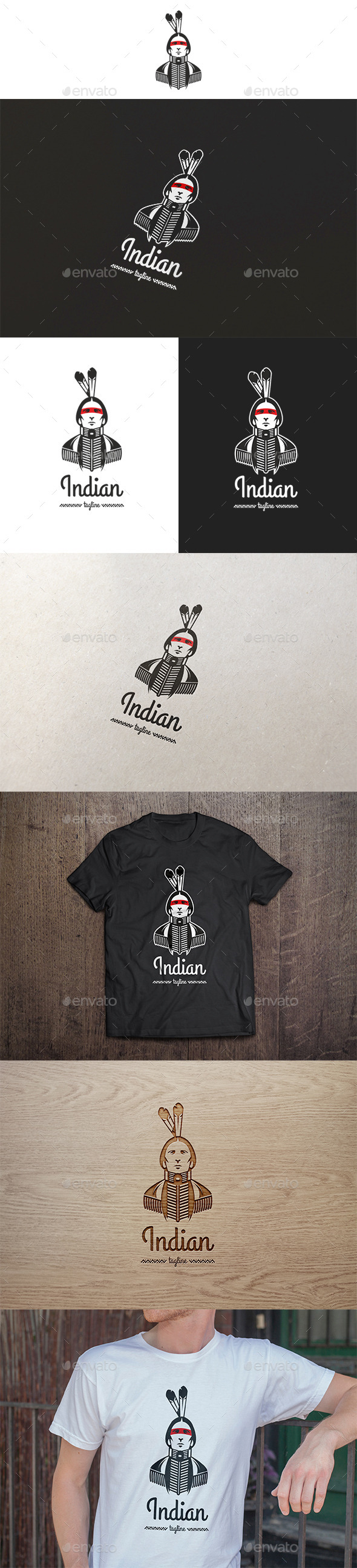 Indian Logo  - Humans Logo Templates