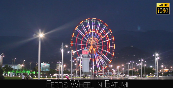 Ferris Wheel In Batumi 3