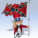 Dixie Sam I Want You Stars and Bars - GraphicRiver Item for Sale