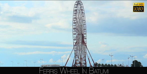 Ferris Wheel In Batumi 5
