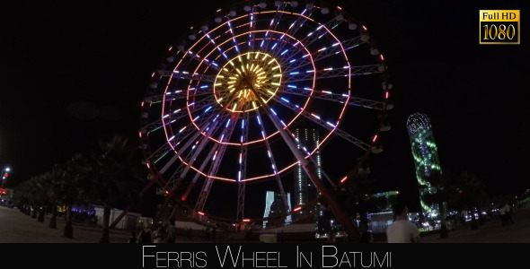 Ferris Wheel In Batumi 6