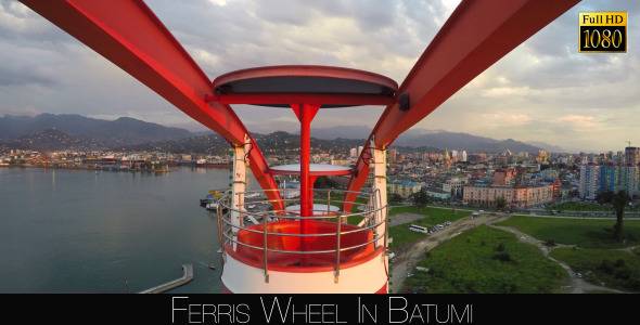 Ferris Wheel In Batumi 12