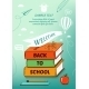 Back To School Poster. Vector Illustration - GraphicRiver Item for Sale