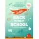 Back To School Sale Poster. Vector Illustration - GraphicRiver Item for Sale