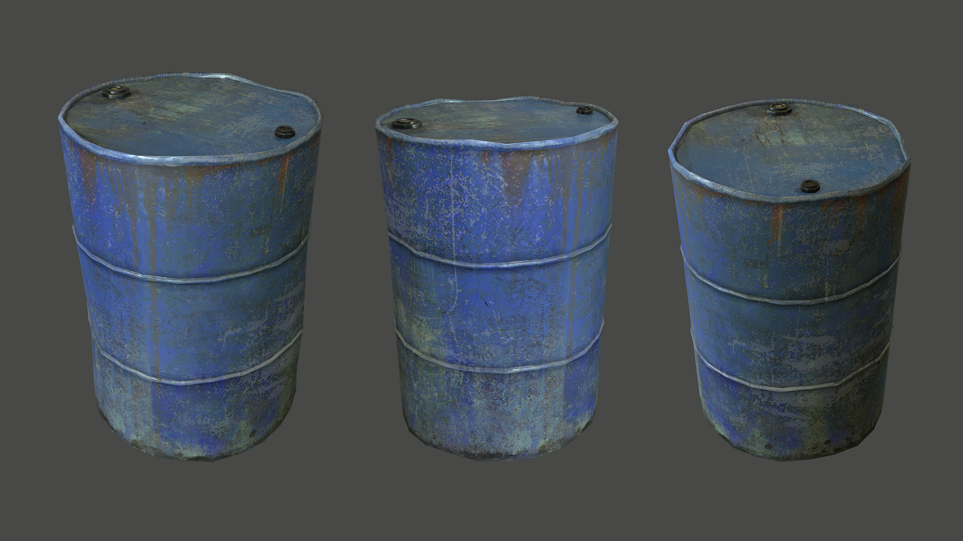Metal Barrel By Polymage 3docean