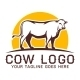 Cow Logo Template - GraphicRiver Item for Sale