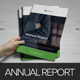 Annual Report InDesign Template v2  - GraphicRiver Item for Sale