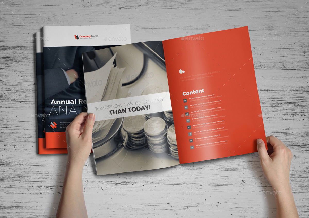 Annual Report InDesign Template v2 by Jbn-Comilla   GraphicRiver