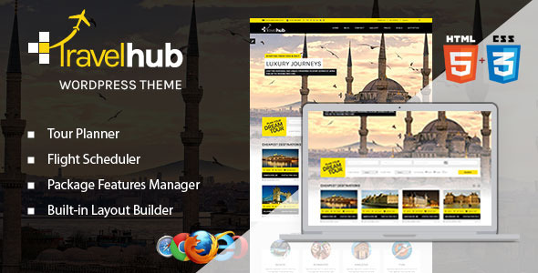 Travelhub WordPress Travel Theme for Agencies
