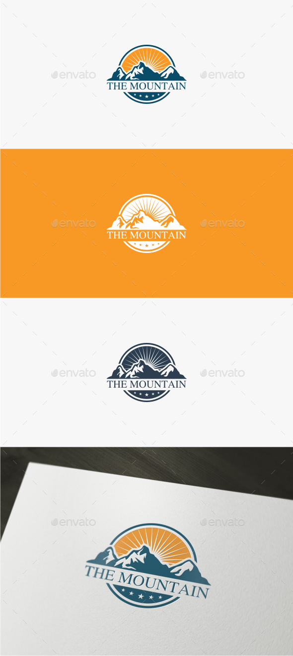Mountain - Logo Template - Nature Logo Templates