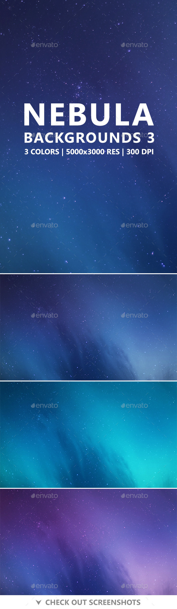 Nebula Backgrounds 3 - Abstract Backgrounds