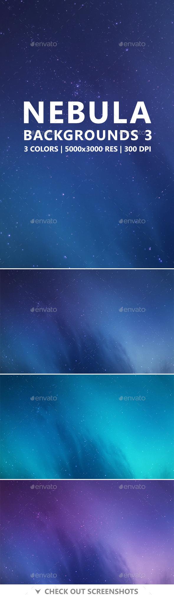 Nebula Backgrounds 3