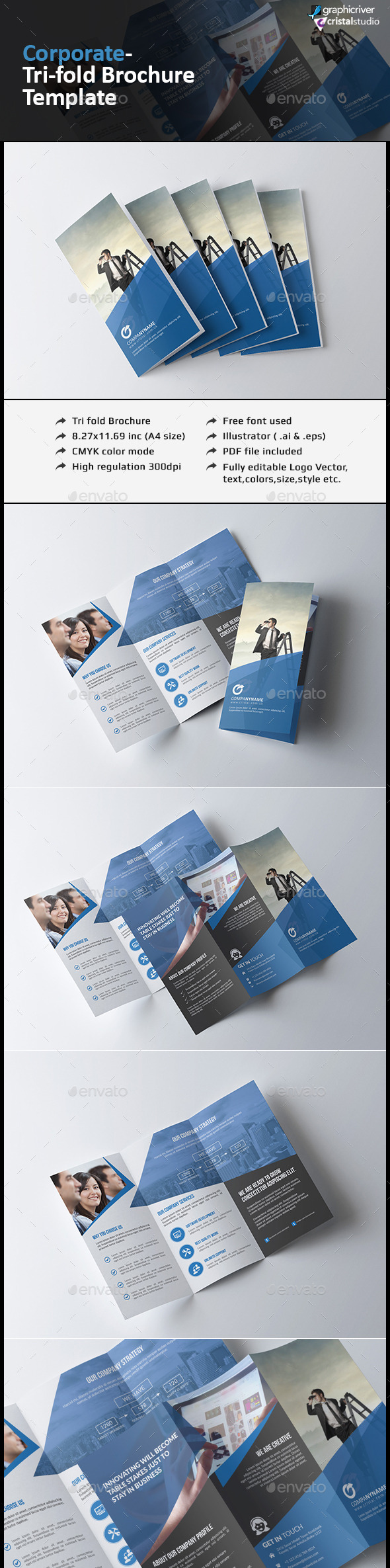 Agency Tri-fold Brochure - Corporate Brochures