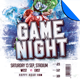 Football Game Night Flyer Template Vol. 3