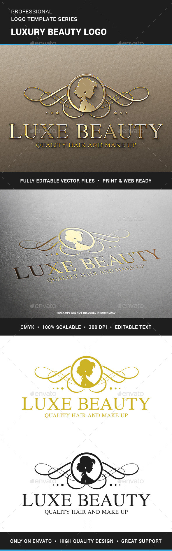 Luxury Beauty Logo Template