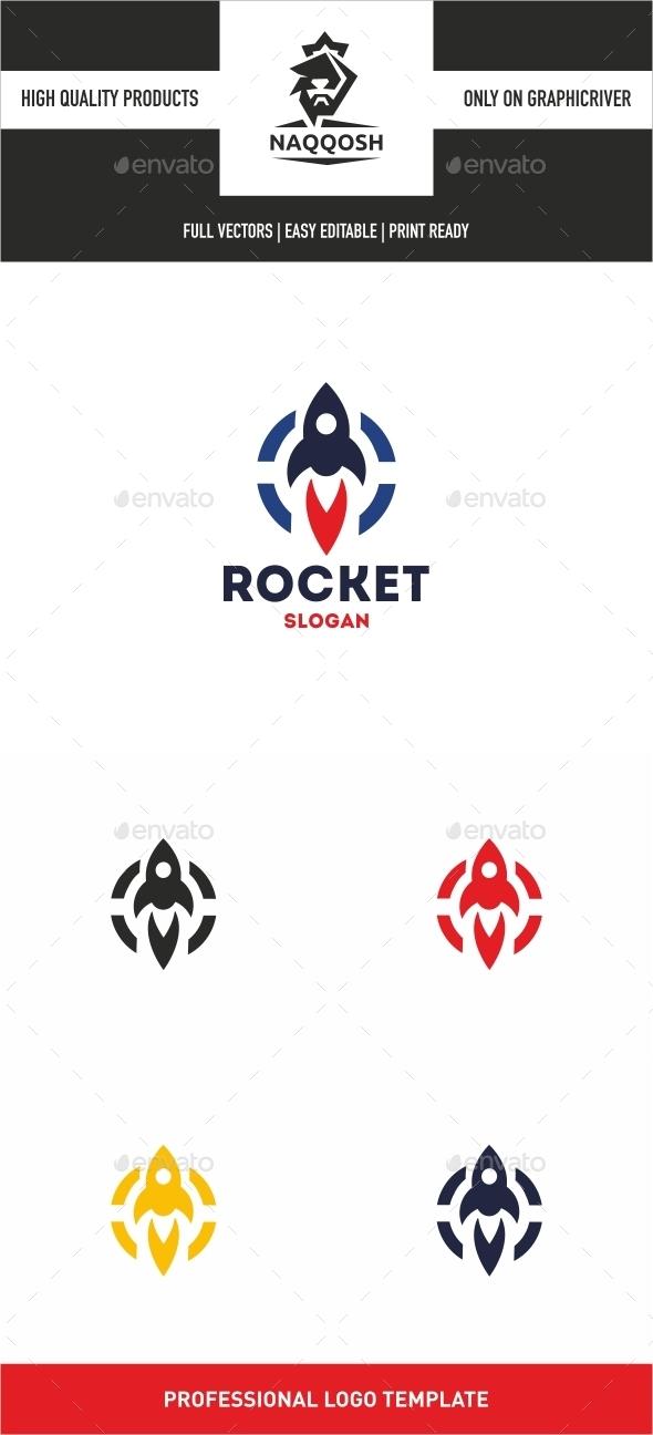 Rocket - Symbols Logo Templates