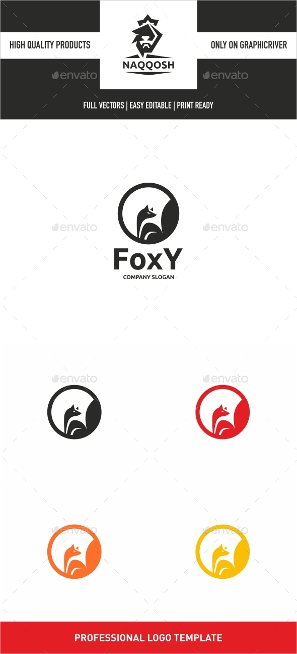 Foxy - Animals Logo Templates