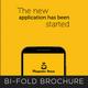 Mobile App Bi-fold Brochure - GraphicRiver Item for Sale