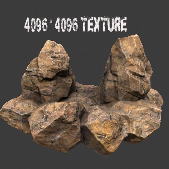 rock_6 - 3DOcean Item for Sale