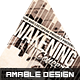 Awakening Concert Church Flyer - GraphicRiver Item for Sale