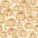 Pattern Of Pumpkins - GraphicRiver Item for Sale