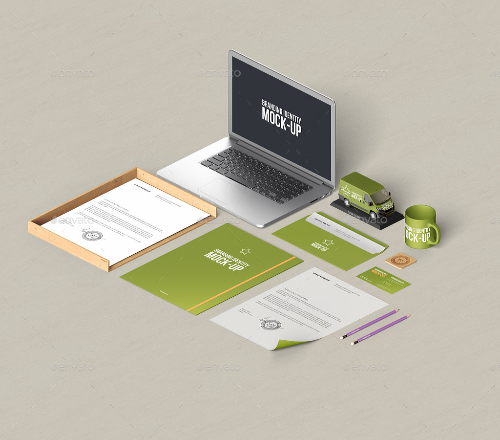 stationery branding mock up by webandcat graphicriver