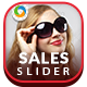 Sales Sliders - 10 Designs - GraphicRiver Item for Sale