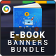 E-Book Banners Bundle - 3 Sets - GraphicRiver Item for Sale