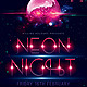Neon Flyer - GraphicRiver Item for Sale