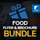 Food Trifold & Flyer Bundle - GraphicRiver Item for Sale