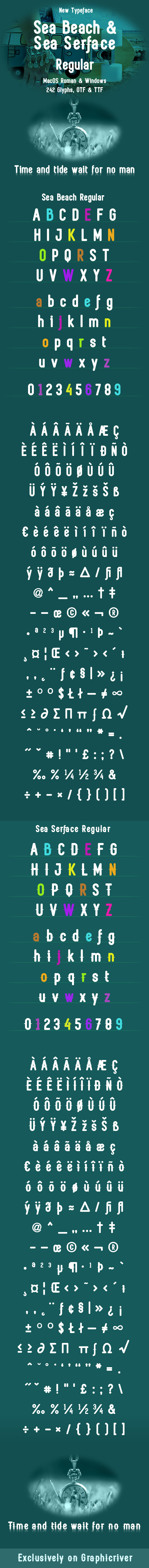Sea Beach & Sea Surface Regular