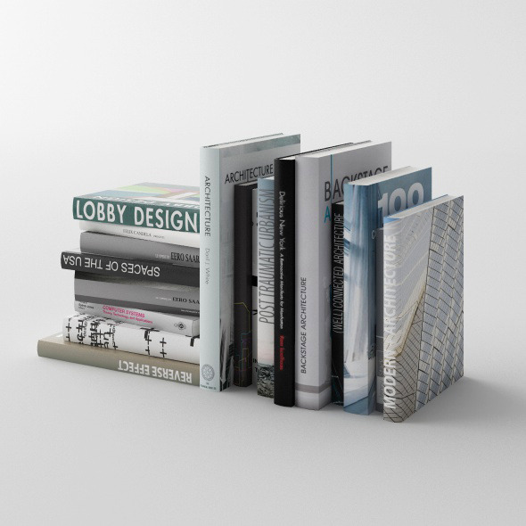 Set of books C4D + Vray (vol. 2) - 3DOcean Item for Sale