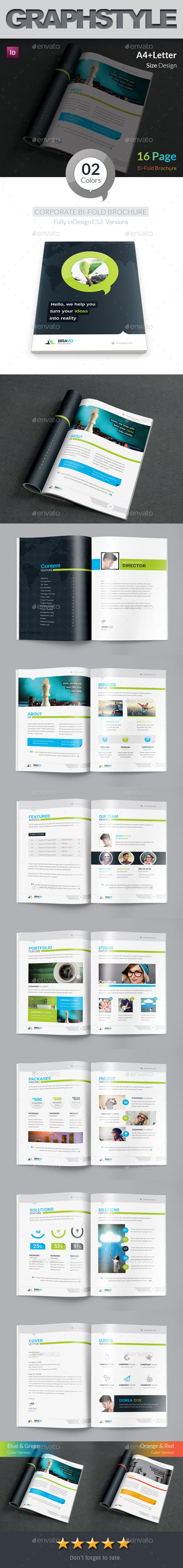 Bravo Business Bi-Fold Brochure