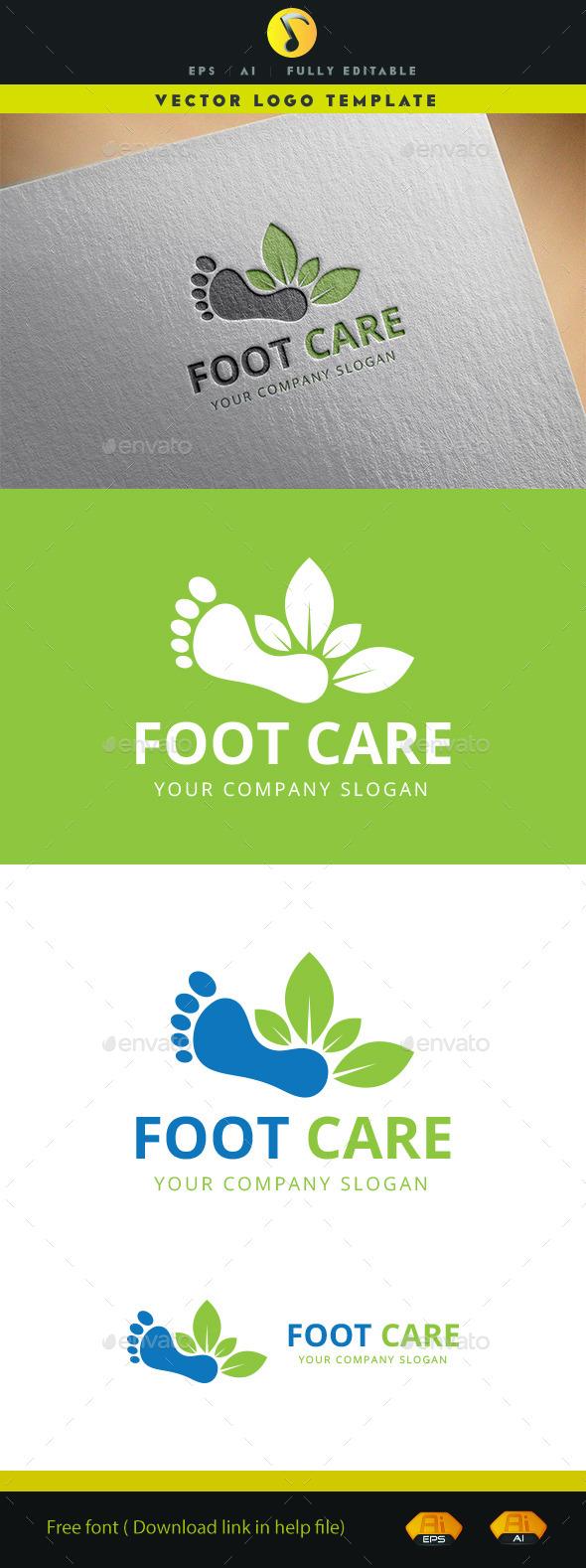 Foot Care Logo - Symbols Logo Templates